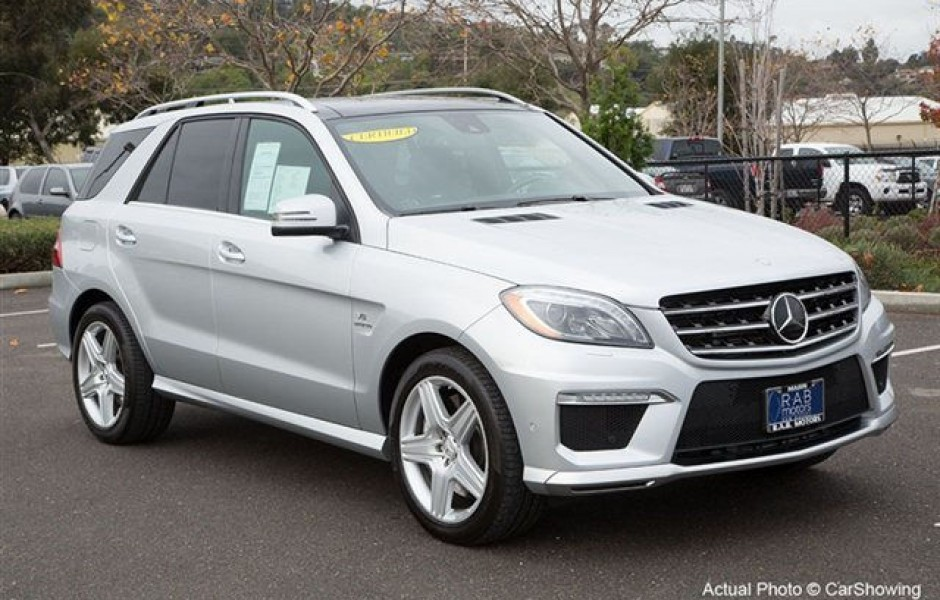 Used 2012 Mercedes Benz Ml350 Blue Tec For Sale In Saint