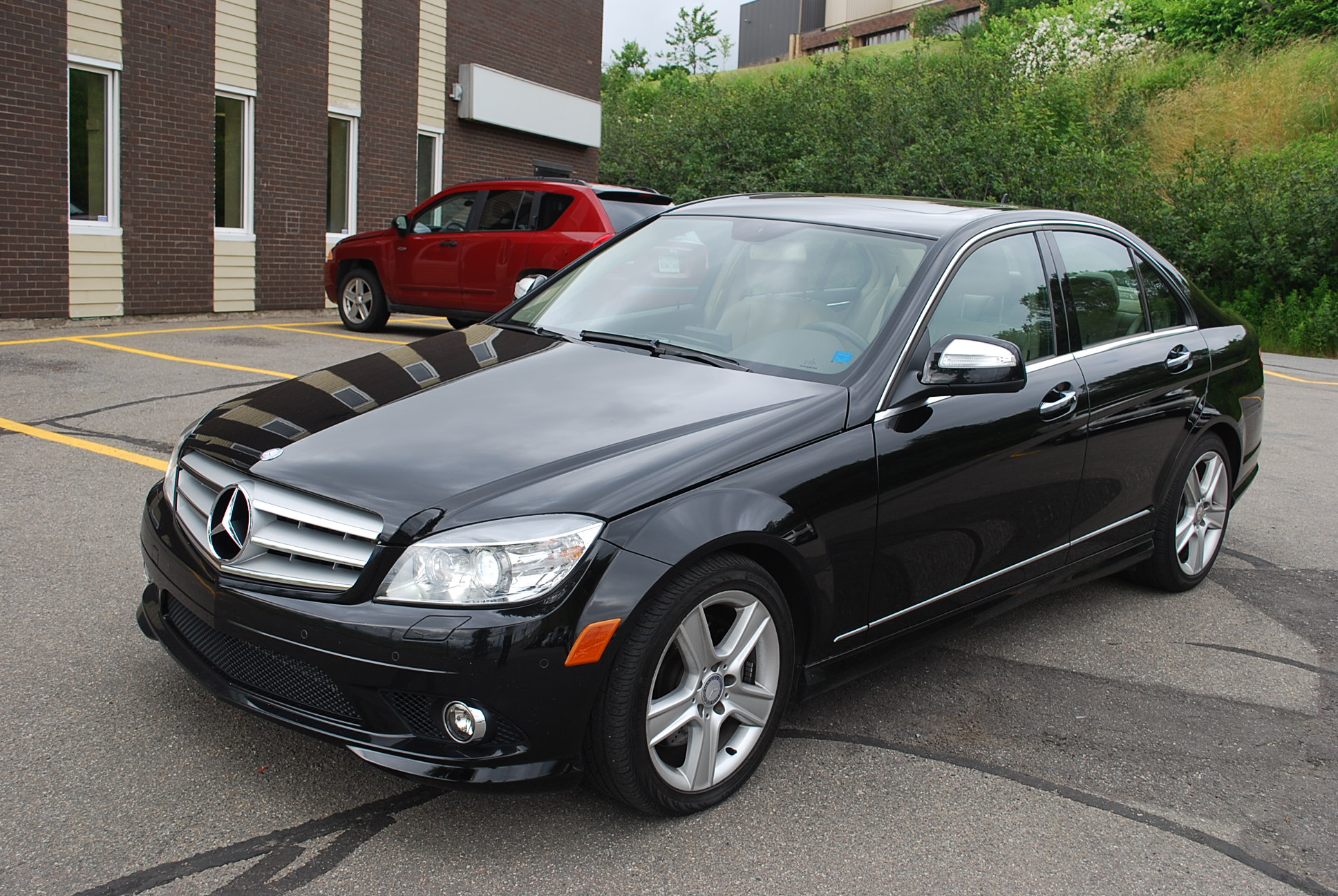 Used 2009 mercedes benz c300 4matic for sale in saint john nb for 2009 mercedes benz c 300