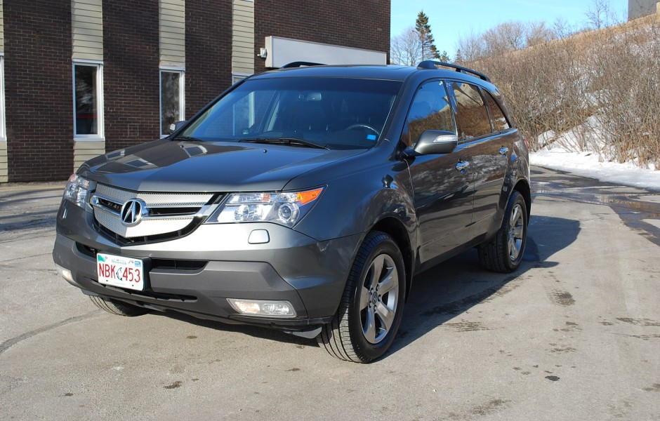 Used 2007 Acura Mdx Elite Package Amp Technology Package For