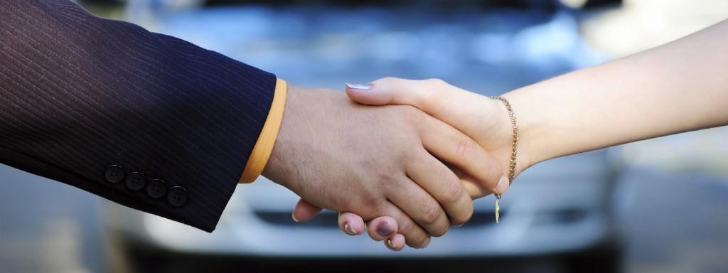 Handshakers of buyer and seller
