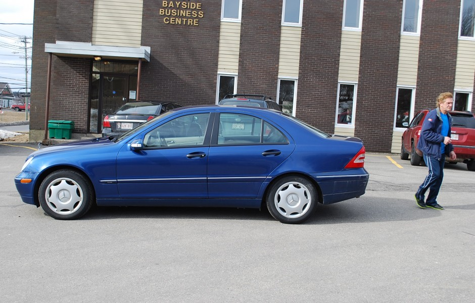 Used 2004 mercedes benz c240 4matic for sale in saint john nb for 2004 mercedes benz c240