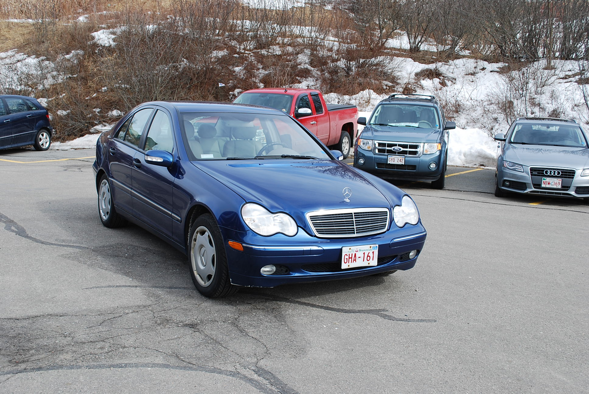 used 2004 mercedes benz c240 4matic for sale in saint john nb. Black Bedroom Furniture Sets. Home Design Ideas