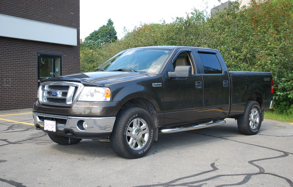 used 2008 ford f150 5 4 crew cab for sale in saint john nb. Black Bedroom Furniture Sets. Home Design Ideas
