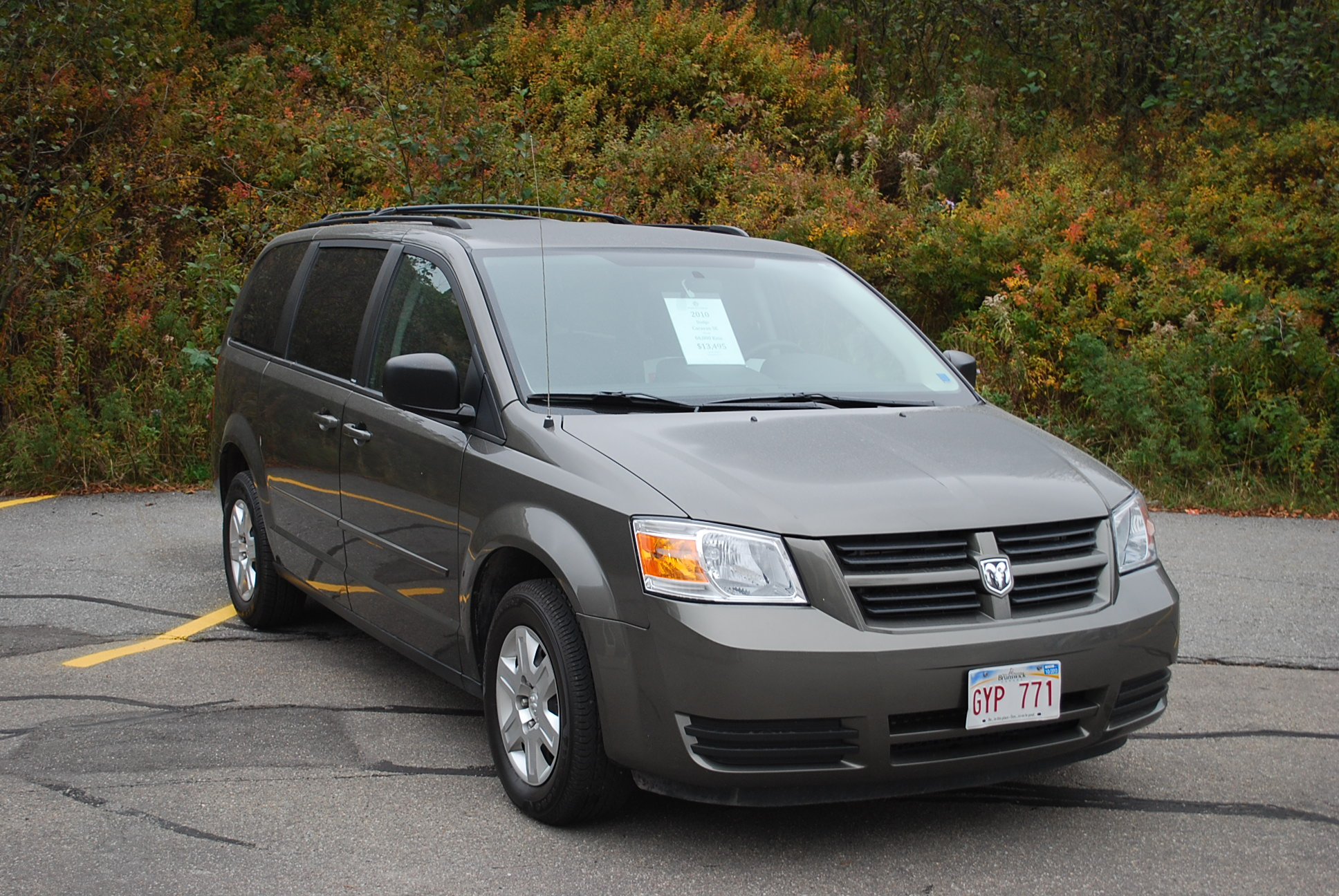 used 2010 dodge grand caravan se for sale in saint john nb. Black Bedroom Furniture Sets. Home Design Ideas