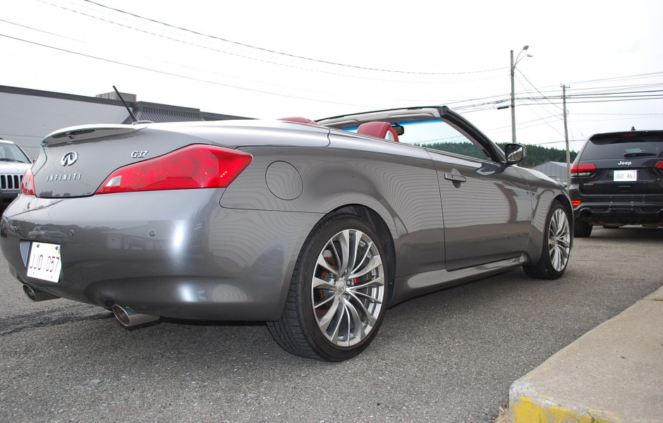 Used 2013 infiniti g37 convertible premier edition for - Infiniti g37 red interior for sale ...