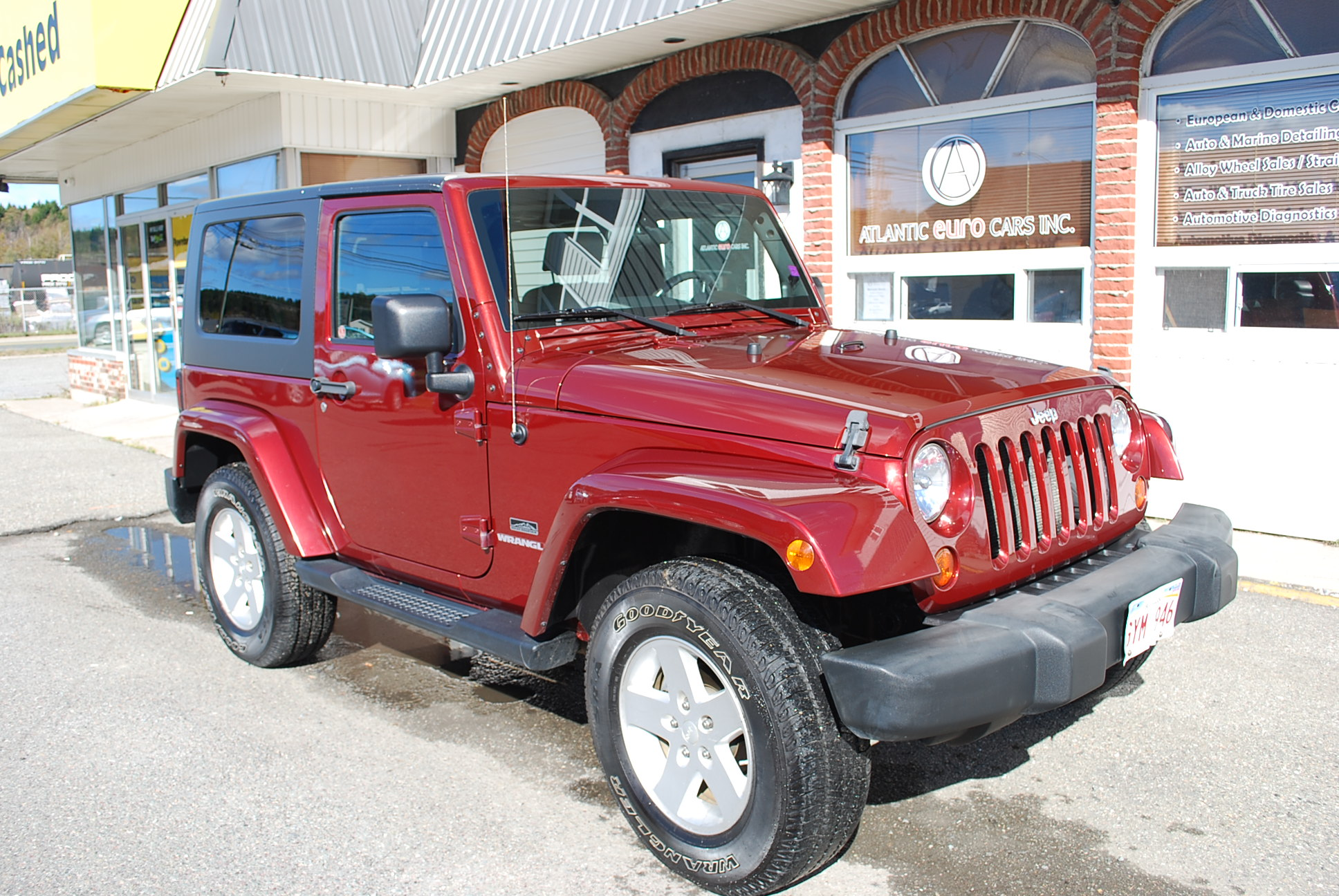used 2009 jeep wrangler 4wd manual transmission rocky mountain edition for sale in saint john nb. Black Bedroom Furniture Sets. Home Design Ideas