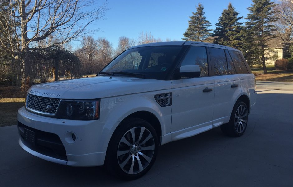 used 2010 land rover range rover sport supercharged autobiography edition for sale in saint john nb. Black Bedroom Furniture Sets. Home Design Ideas