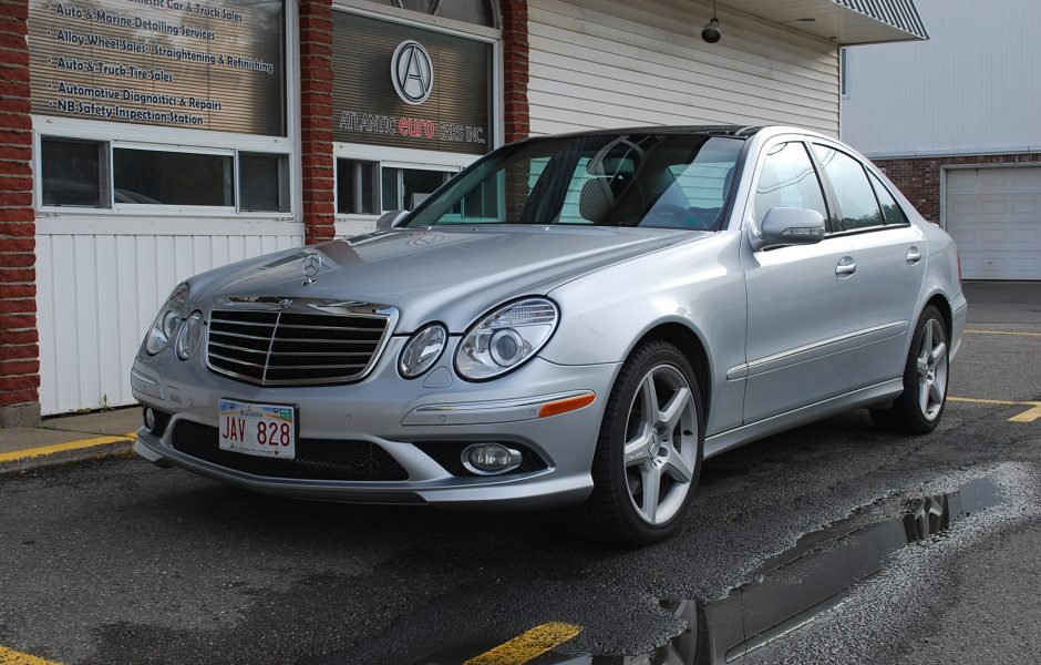 Used 2008 mercedes benz e550 4matic for sale in saint john nb for 2008 mercedes benz e350 for sale