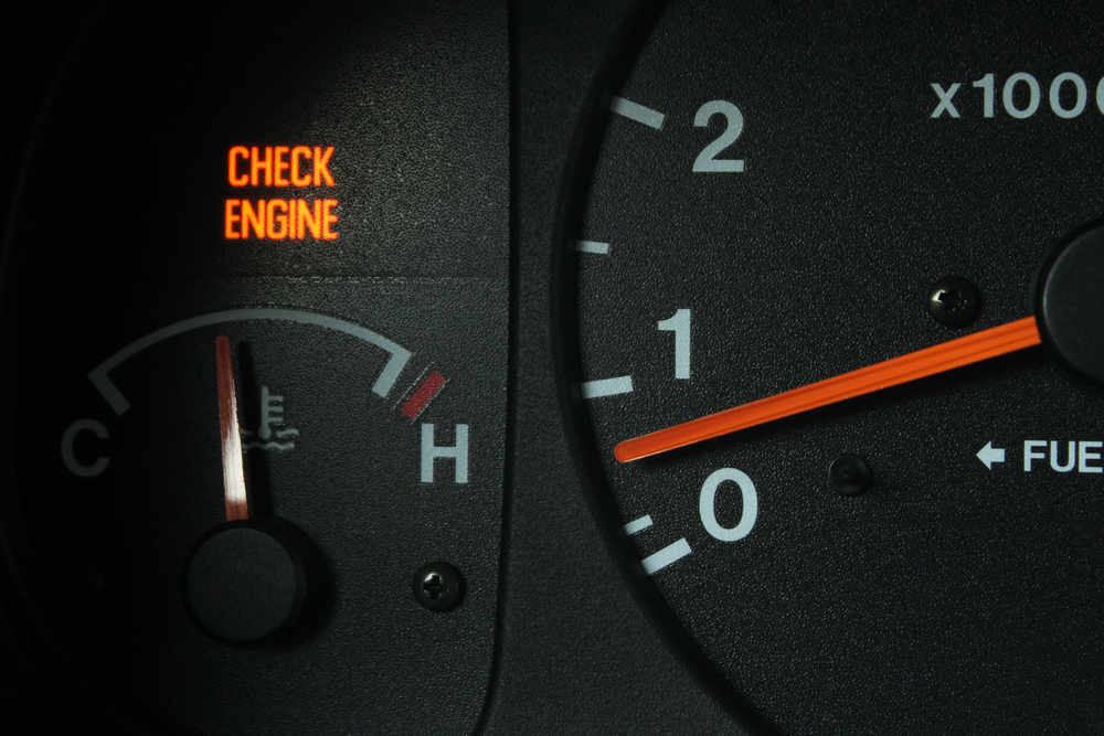 Is your check engine light on?