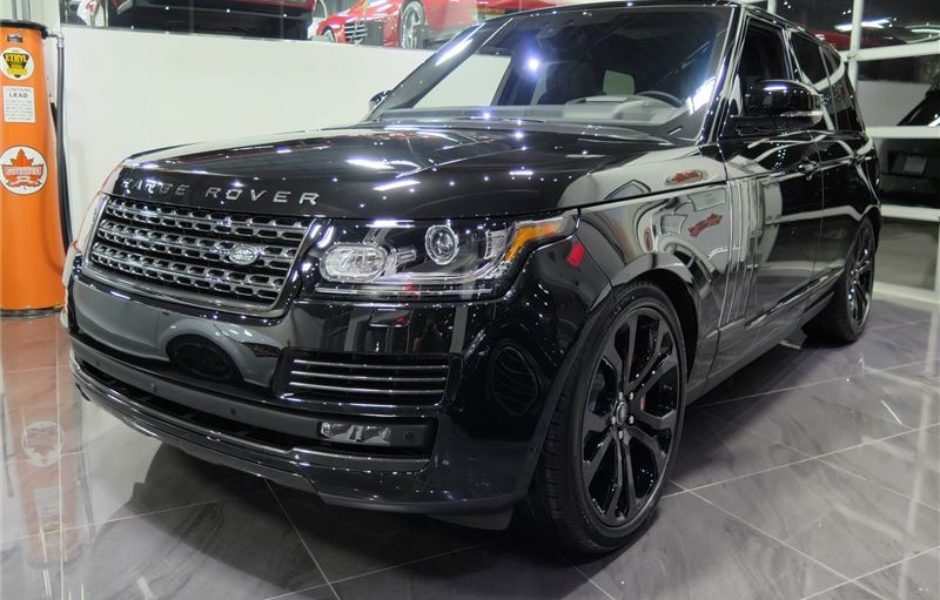 2018 Range Rover Sv Autobiography Dynamic >> Used 2017 Range Rover Supercharged Sv Autobiography Dynamic