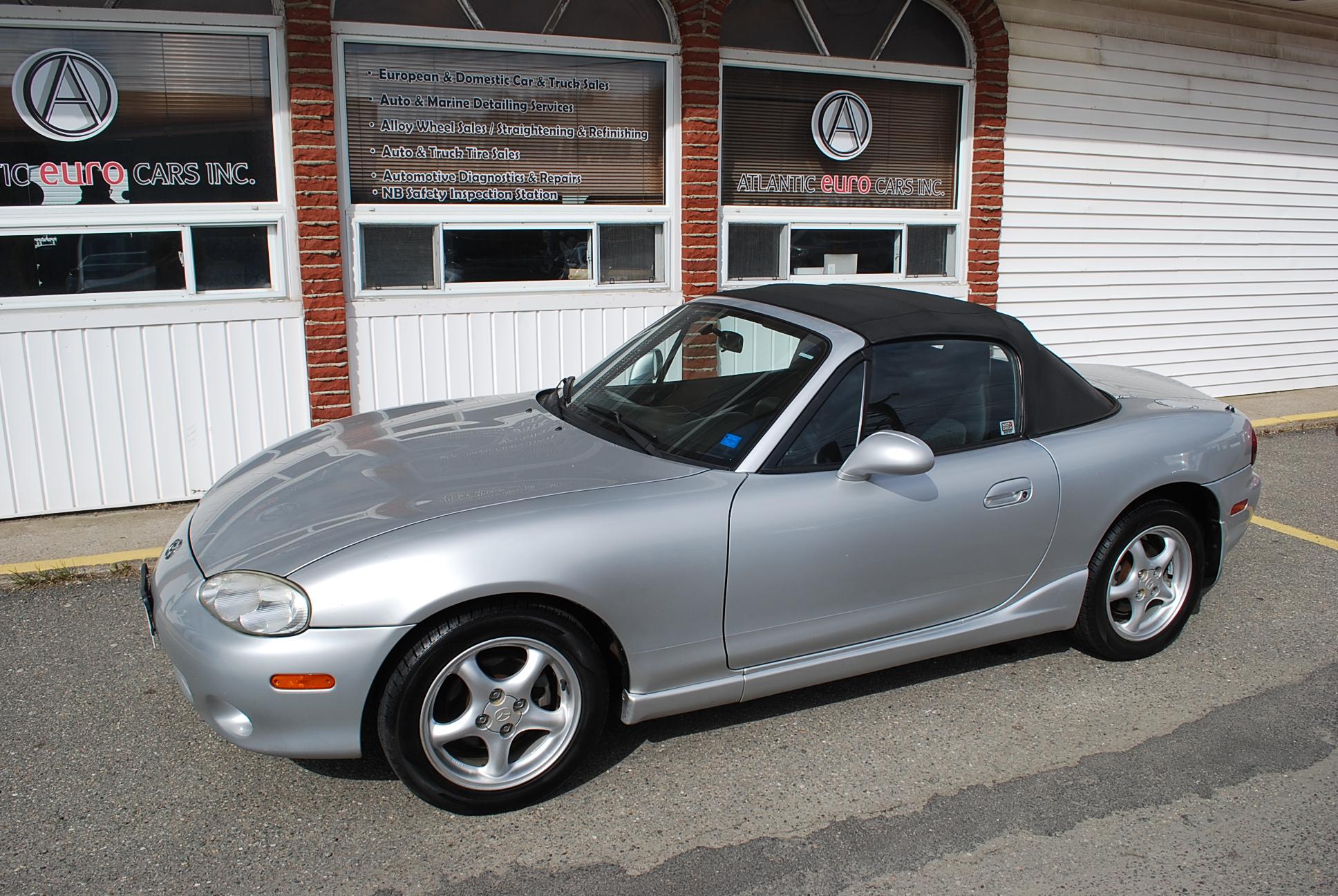 Used 2002 Mazda Miata MX 5 for sale in Saint John NB