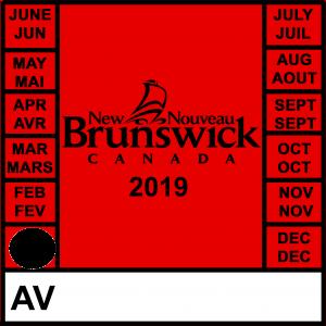 January 2019 Motor Vehicle Inspection MVI New Brunswick